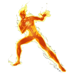 Human Torch Game Sprays Pictures