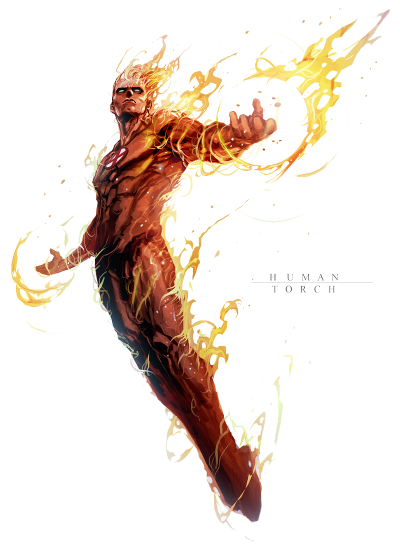 Human Torch Png File Image