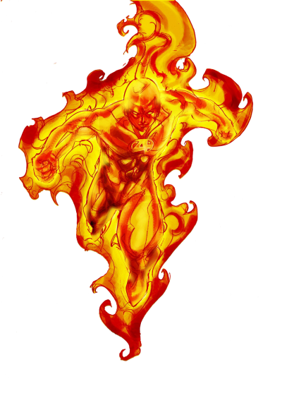 Human Torch Png Transparent