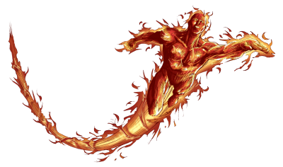 Human Torch Png Transparent Image