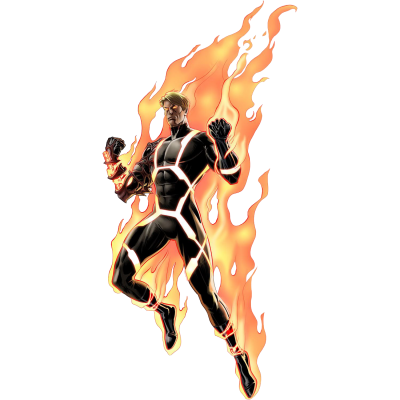 Human Torch Transparent Clipart