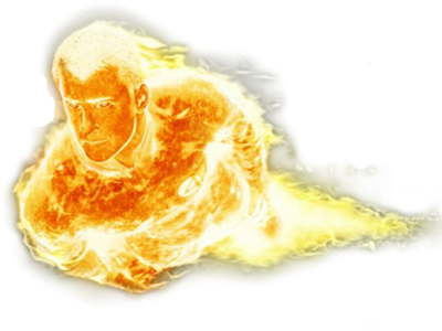 Human Torch Vectory Png