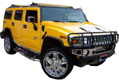 Yellow Hummer Picture PNG Images