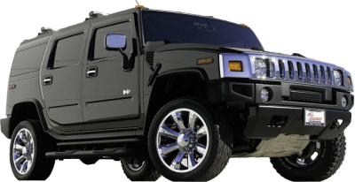 Black Hummer Transparent Picture