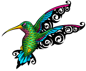 Transparent Hummingbird Tattoos Image