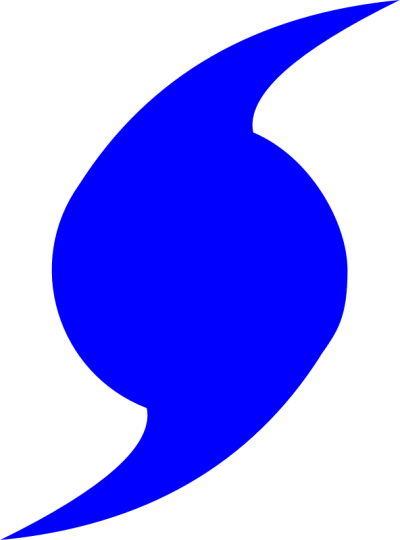 Blue, Hurricane Symbol Pictures