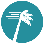 Blue Hurricane Trees Symbol Png
