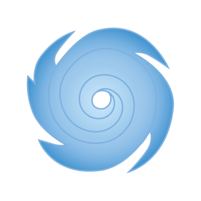 Blue, Metal, Hurricane Icon Png