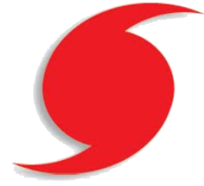 Red Symbol Hurricane Png Image PNG Images