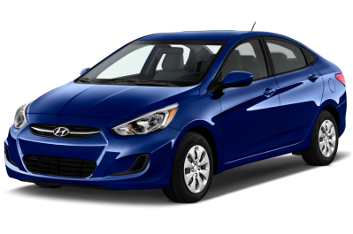 Blue Hyundai Accent Free Download