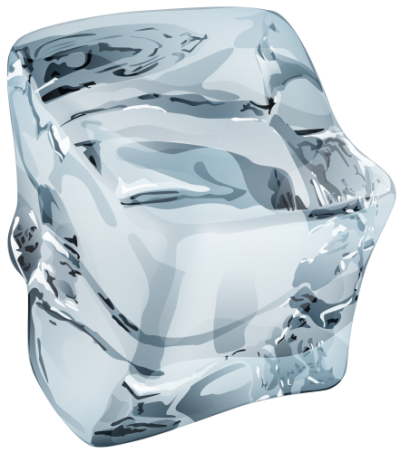Single Ice Crystal Transparent Background PNG Images