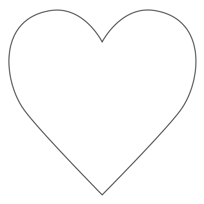 Instagram Heart Simple PNG Images