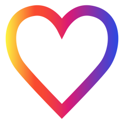 Download Instagram Heart Free Png Transparent Image And Clipart