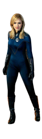 Blue Invisible Woman Png Images Transparent