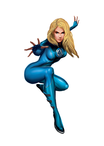 Comic Cartoons Invisible Woman Png