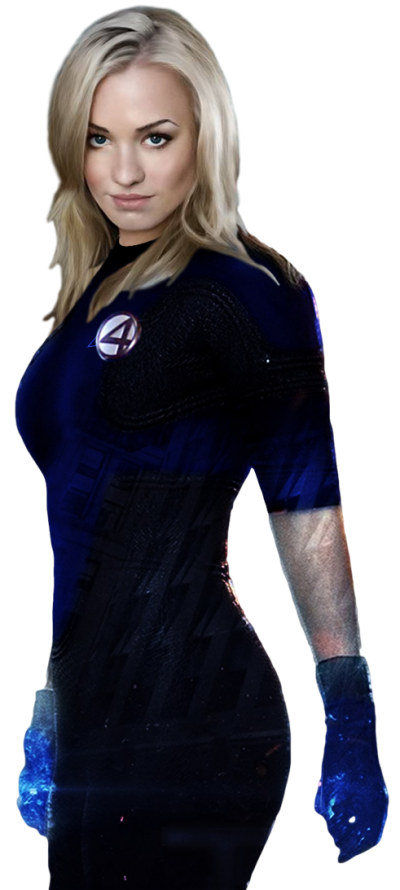 Dark Invisible Woman Transparent Picture