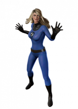 Invisible Woman Png Transparent Image