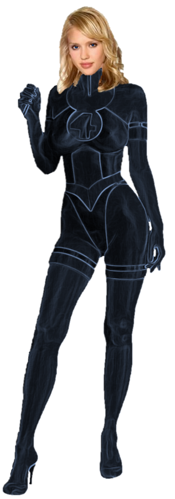 Star Invisible Woman Png PNG Images