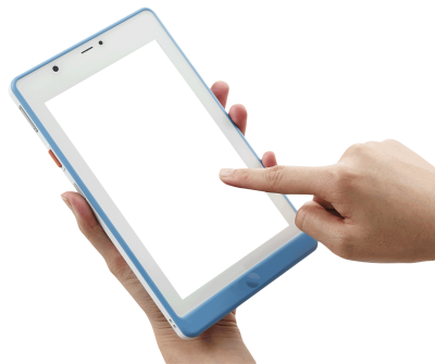 Ipad On Hand Clipart Transparent PNG Images