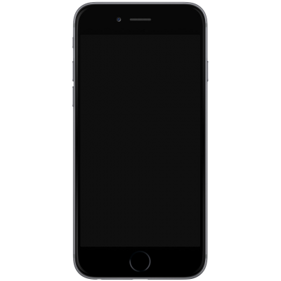 Flat Apple Black iphone 7 Design Png Hd PNG Images