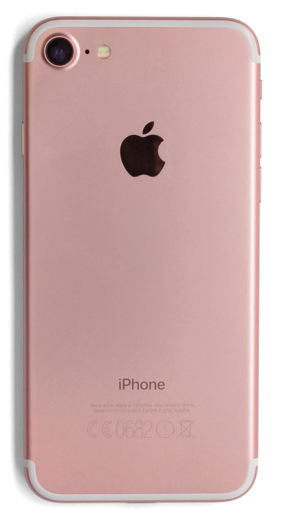 iphone 7 Rose Gold Back View Png Free PNG Images