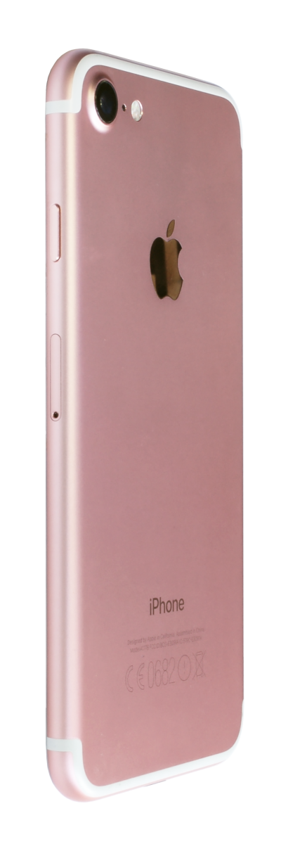 iphone Rose Gold Back Right Transparent PNG Images