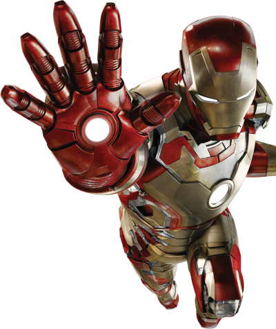 Iron Man Vector PNG Images