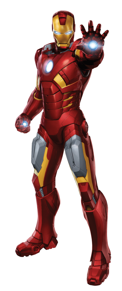 Iron Man Icon Clipart PNG Images