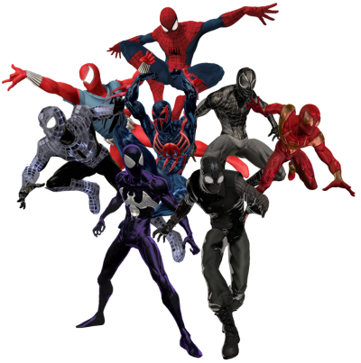 Iron Spiderman Free Transparent PNG Images