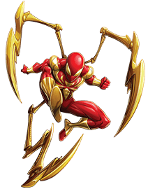 Iron Spiderman Cut Out 13 PNG Images