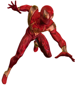 Iron Spiderman Marvel Cut Out PNG Images