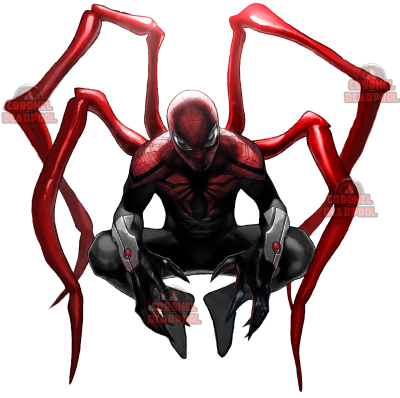 Iron Spiderman Marvel Transparent PNG Images
