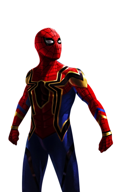 Iron Spiderman High Quality PNG Images