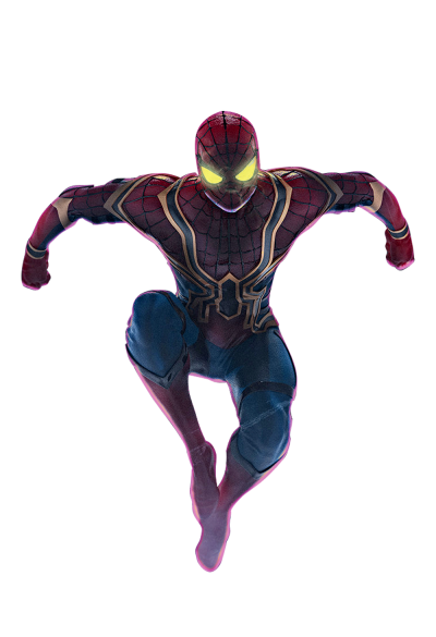 Iron Spiderman Hd Photo Pics PNG Images