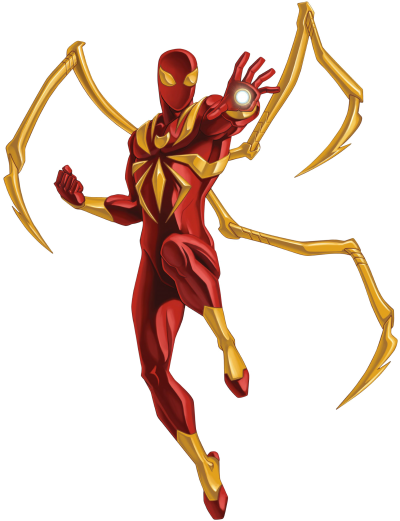 Iron Spiderman Hd Photo PNG Images