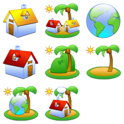 Island Clipart HD PNG Images