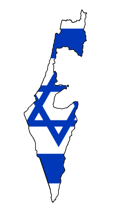 Illustration Map Vector Graphics Flag National Flag - Israel Flag Transparent Image 15