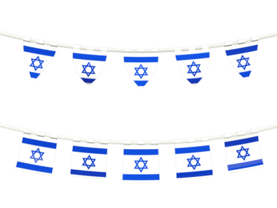 Israel Flag Clipart Photo 23