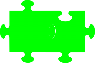 Green Jigsaw Puzzle Clip Art Png