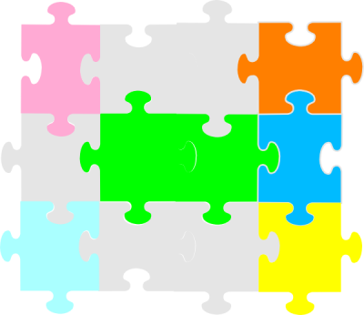 Jigsaw Puzzle Clip Art PNG Images