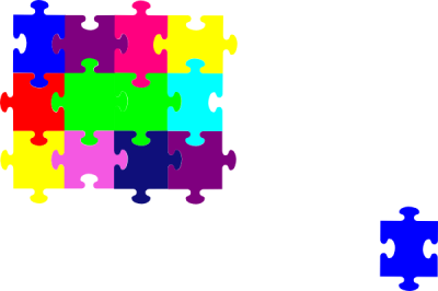 Jigsaw Puzzle Png Transparent Clipart PNG Images