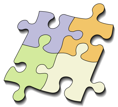 Jigsaw Puzzle Simple Pictures PNG Images