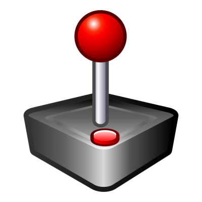 Red Ball Joystick Clipart Transparent PNG Images