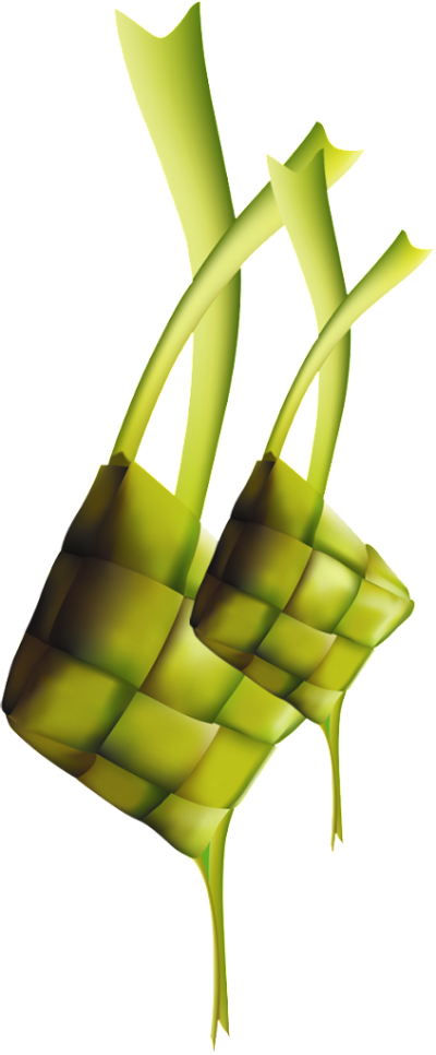 Ketupat Clipart Transparent