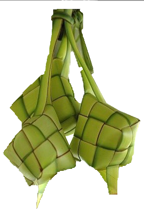 Ketupat Cut Out