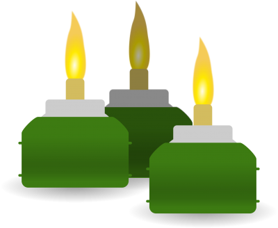 Ketupat Candles Transparent Pic PNG Images