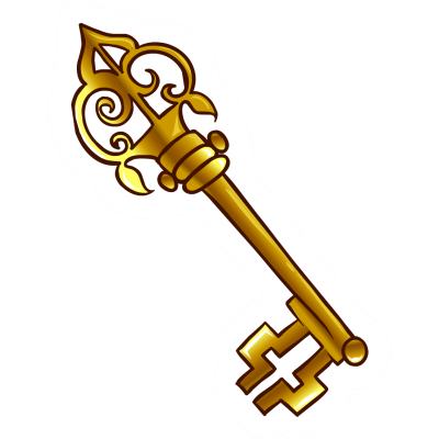 Skeleton Keys Transparent Background PNG Images