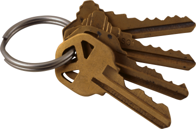 Old Copper Keys Free Cut Out PNG Images