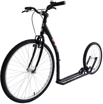 Kick Scooter Transparent