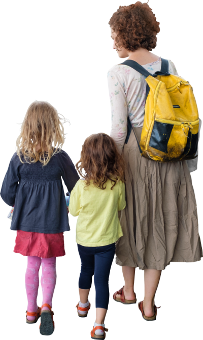 Kids Go To School, Back To School Picture PNG Images